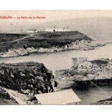 Postales: LA CORUÑA.- LA PEÑA DE LA MAROLA.. Lote 121797863