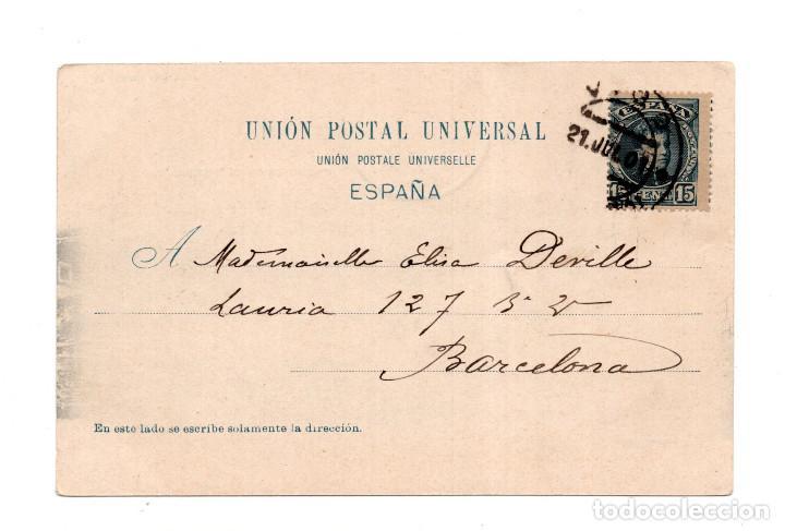 Postales: VIGO.- (PONTEVEDRA).- GOYA, BAUZAS, ISLAS CIES - Foto 2 - 122146743