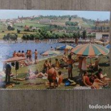 Postales: POSTAL LUGO, LA PLAYA FLUVIAL. Lote 122379227