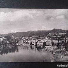 Postales: FOTO POSTAL DE ORENSE, N. 27, RIO MIÑO, PUENTE ROMANO, ED. SICILIA, CIRCULADA.. Lote 122441571