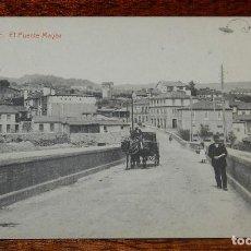Postales: POSTAL DE ORENSE, N. 11, EL PUENTE MAYOR, ED. THOMAS 6244, NO CIRCULADA.. Lote 122652231