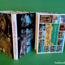 Postales: TARJETA POSTAL - SANTIAGO DE COMPOSTELA, AÑO SANTO 1993 - 20 FOTOS A COLOR - DESPLEGABLE EN ACORDEÓN. Lote 123044575