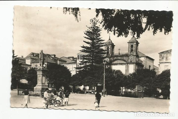 EL FERROL DEL CAUDILLO - PLAZA DE AMBOAGE. CAPILLA DE LOS DOLORES - Nº 136 ED. ARRIBAS (Postales - España - Galicia Moderna (desde 1940))