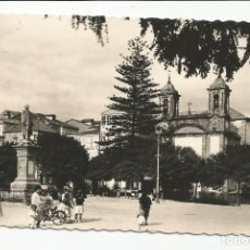 Postales: EL FERROL DEL CAUDILLO - PLAZA DE AMBOAGE. CAPILLA DE LOS DOLORES - Nº 136 ED. ARRIBAS. Lote 123357347