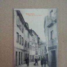 Postales: CALLE PASCUAL VEIGA - MONDOÑEDO- LUGO- GALICIA. Lote 123754147