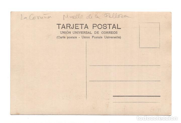 Postales: LA CORUÑA - MUELLES DE LA PALLOZA - Foto 2 - 124275367