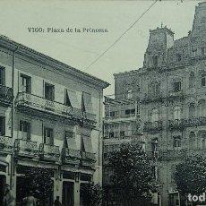 Postales: VIGO - PLAZA DE LA PRINCESA. Lote 127164947