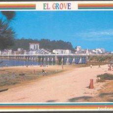 Postales: 6 - EL GROVE (PONTEVEDRA).- PLAYA Y VISTA PARCIAL.. Lote 127204859