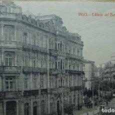 Postales: VIGO - EDIFICIO DEL BANCO DE BILBAO. Lote 127255083