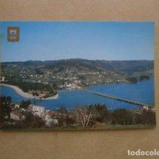 Postales: POSTAL PONTEDEUME DESEMBOCADURA DEL RIO EUME. Lote 127628475