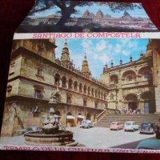Postales: TIRA 10 POSTALES SANTIAGO DE COMPOSTELA,TEMPLO DE LA CULTURA UNIVERSAL. ED.ARRIBAS. Lote 127855323