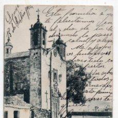 Postales: VILLAGARCÍA DE AROSA. IGLESIA PARROQUIAL. FRANQUEADA EL 15 DE JULIO DE 1904.. Lote 128013099
