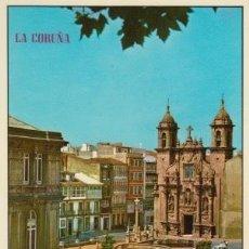 Postales: POSTAL A CORUÑA. IGLESIA DE SAN JORGE. EDICIONES PARÍS. ZARAGOZA. Lote 128073147