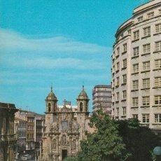 Postales: POSTAL A CORUÑA. IGLESIA DE SAN JORGE. EDICIONES ARRIBAS. ZARAGOZA. Lote 128073699