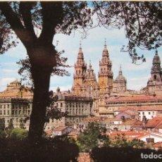 Postales: SANTIAGO DE COMPOSTELA - 10 VISTAS IMPRESCINDIBLES. Lote 128118803