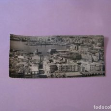 Postales: POSTAL FOTOGRÁFICA DE LA CORUÑA. VISTA GENERAL. ED. ARTIGOT. 21X9 CM.. Lote 128179503