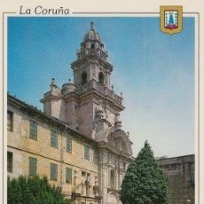 Postales: POSTAL A CORUÑA. IGLESIA DE SANTO DOMINGO. L. DOMÍNGUEZ. MADRID. Lote 128247295