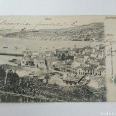 Postales: POSTAL MARÍN, PONTEVEDRA, CIRCULADA EN 1902. GALICIA.. Lote 128450720