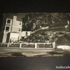 Postais: BAYONA PONTEVEDRA HOTEL ROMPEOLAS. Lote 128600679