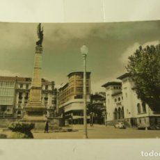Postales: FERROL DEL CAUDILLO MONUMENTO A LOS FERROLANOS MUERTOS EN AFRICA COLOREADA ED. PARIS 38. Lote 128645451