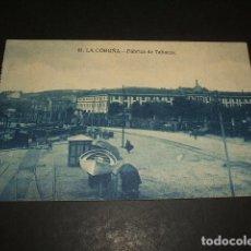 Postales: LA CORUÑA FABRICA DE TABACOS. Lote 128726891