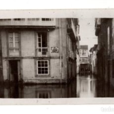 Postales: PADRÓN (PONTEVEDRA) - 1929 INUNDACIONES. POSTAL FOTOGRÁFICA L. ARAGUNDE. Lote 128735059