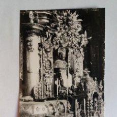 Cartoline: TARJETA POSTAL - SANTIAGO DE COMPOSTELA - CATEDRAL 27 - ALTAR MAYOR. Lote 128894359