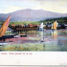 Postales: VILLAGARCIA DE AROSA- VISTA PARCIAL DE LA RÍA-1904-- FOTO MARTINEZ. Lote 128961219