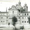 Postales: MONFORTE DE LEMOS (LUGO). IGLESIA Y CONVENTO DE LA COMPAÑÍA DE JESÚS. POSTAL SUPERPANORÁMICA.. Lote 129743167