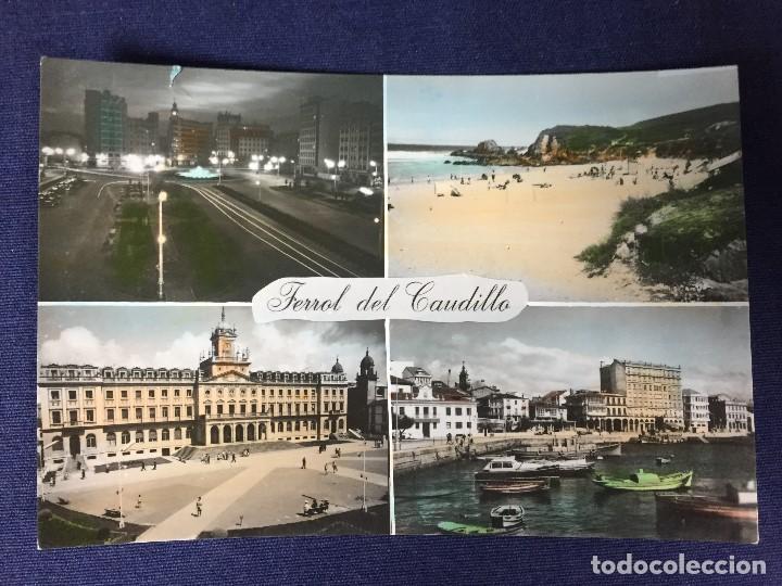 POSTAL ANTIGUA FERROL DEL CAUDILLO 55 ED PARIS NO ESCRITA NO CIRCULADA (Postales - España - Galicia Moderna (desde 1940))