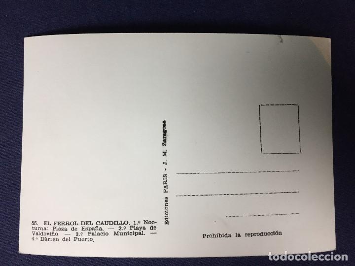 Postales: POSTAL ANTIGUA FERROL DEL CAUDILLO 55 ED PARIS NO ESCRITA NO CIRCULADA - Foto 2 - 129959411