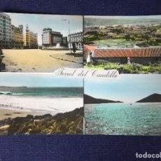Postales: POSTAL ANTIGUA FERROL DEL CAUDILLO 53 ED PARIS ESCRITA CIRCULADA. Lote 129959843