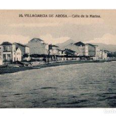 Postales: VILLAGARCIA DE AROSA.- PONTEVEDRA. CALLE DE LA MARINA.. Lote 130113547