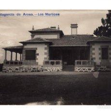 Postales: VILLAGARCIA DE AROSA.- PONTEVEDRA. POSTAL FOTOGRÁFICA - LOS MARTICES. Lote 130114103