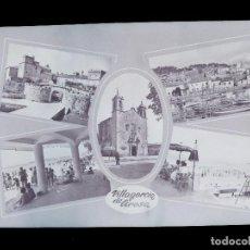 Postales: VILLAGARCIA DE AROSA, PONTEVEDRA - 11 CLICHES ORIGINALES - NEGATIVOS EN CELULOIDE - ED. ARRIBAS. Lote 130262170