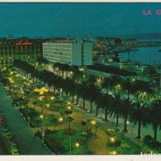 Postales: POSTAL A CORUÑA. AVENIDA LOS CANTONES Y JARDINES. EDICIONES PARÍS. ZARAGOZA. Lote 130264070