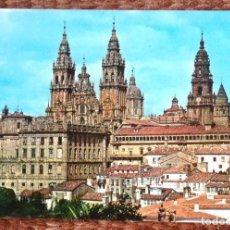 Postales: SANTIAGO DE COMPOSTELA - VISTA PARCIAL. Lote 130301130