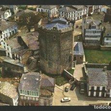 Postales: VILALBA / VILLALBA - TORRE DEL HOMENAJE DEL CASTILLO DE ANDRADE - LUGO - P26695. Lote 130317158