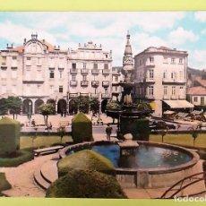 Postales: PONTEVEDRA. 10 PLAZA DE LA HERRERÍA. ED. ALARDE. USADA CON SELLO. COLOR. Lote 130919727
