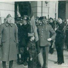 Postales: CORUÑA GUERRA CIVIL. ACTO ENTREGA BANDERA A LOS CABALLEROS DE LA CORUÑA. AÑO 1936. FOTOGRÁFICA.. Lote 131151620