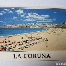 Postales: LA CORUÑA PLAYA DE RIAZOR Nº 289 ED. ARRIBAS. Lote 131600362