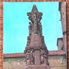 Postales: SANTIAGO DE COMPOSTELA - MONUMENTO A SAN FRANCISCO. Lote 131897082