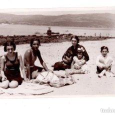 Postales: LOS PLACERES.- (PONTEVEDRA).- VISTA GENERALAGOSTO 1934. Lote 132037174