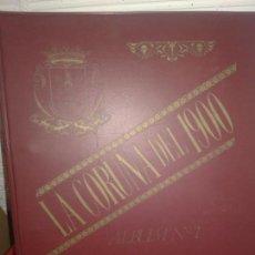 Postales: LA CORUÑA DEL 1900-ALBUM CON 100 REPRODUCCIONES DE POSTALES-LIBRERIA ARENAS-N. Lote 132157986