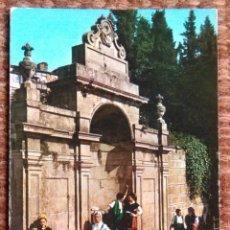 Postales: ORENSE - FUENTES TERMALES DE LAS BURGAS. Lote 132220578