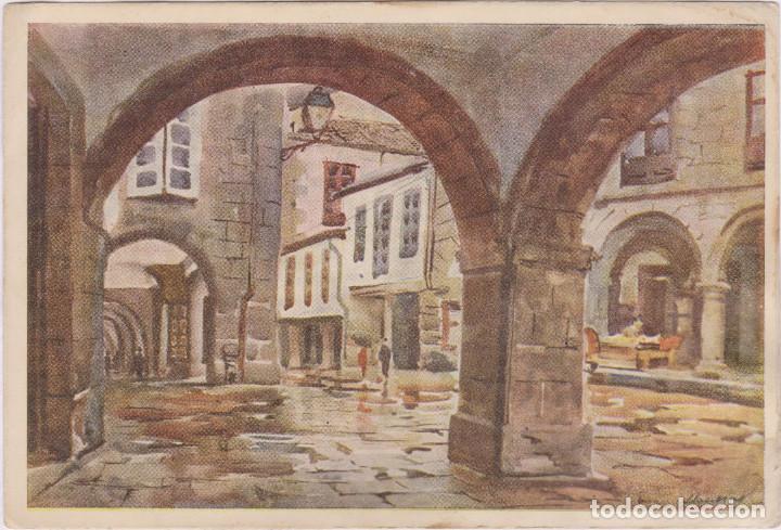 SANTIAGO DE COMPOSTELA - RÚA DEL VILLAR (Postales - España - Galicia Moderna (desde 1940))