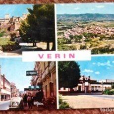 Postales: VERIN - ORENSE. Lote 132815374