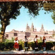 Postales: SANTIAGO DE COMPOSTELA - VISTA PARCIAL. Lote 132815654