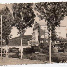 Postales: PS8013 CALDAS DE REYES 'PUENTE SOBRE EL RÍO UMIA'. ED. ALARDE. CIRCULADA. 1959. Lote 133175662
