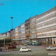 Postales: CORUÑA- AVDA DE LA MARINA. Lote 133315606